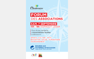 Forum des Associations Samedi 7 septembre